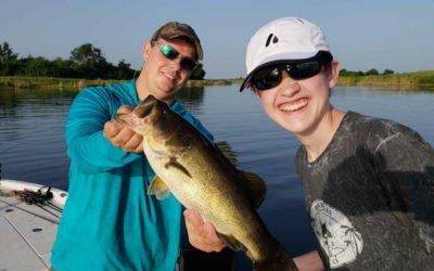 Lake Okeechobee Bass Fishing Trip on Fire